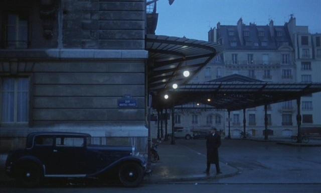 En la película Il Conformista, Storaro usó los tonos azules como símbolo del sentimiento de libertad del protagonista a su llegada a París.