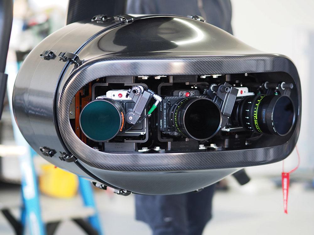 Shotover-k1 aerial camera array