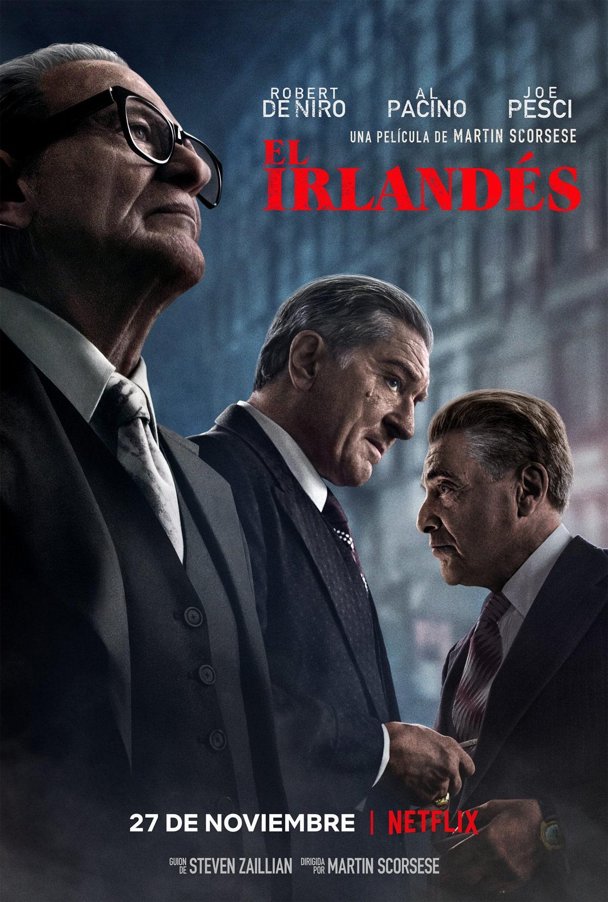 El Irlandés Afiche